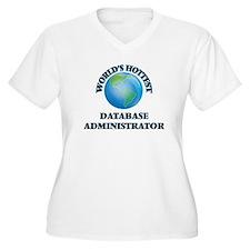 World's Hottest Database Adminis Plus Size T-Shirt