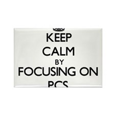 Keep Calm by focusing on Pcs Magnets