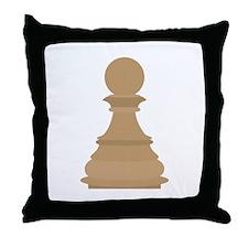 Pawns Throw Pillow