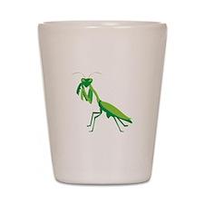 Praying Mantis Shot Glass