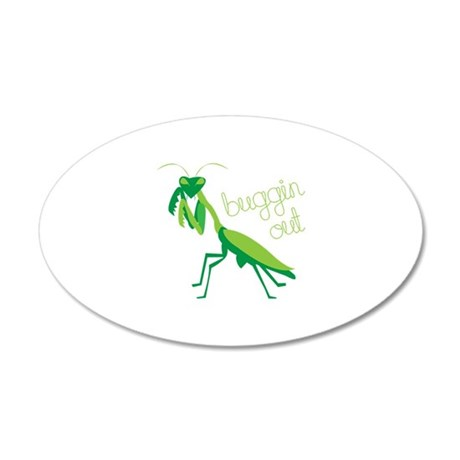 Buggin Out Wall Decal