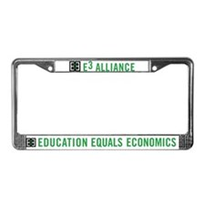 E3 Alliance License Plate Frame