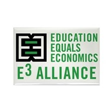 E3 Alliance Rectangle Magnet