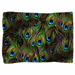 Peacock Feathers Invasion Pillow Sham