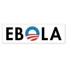 Obama Ebola Bumper Bumper Sticker