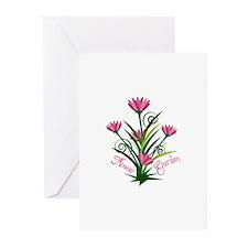 Flower Garden Greeting Cards