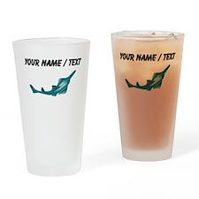 Custom Sawfish Drinking Glass