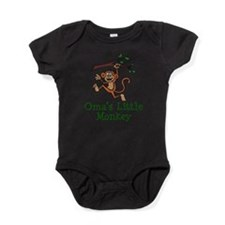 Oma's Little Monkey Baby Bodysuit