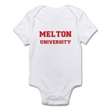 MELTON UNIVERSITY Infant Bodysuit
