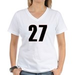Shameless 27 Women's V-Neck T-Shirt