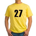 Shameless 27 Yellow T-Shirt