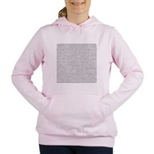 Unique Learn Women's Hooded Sweatshirt