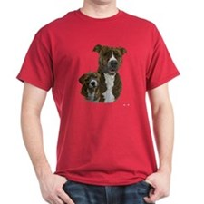 Pit Bull Terrier And Pup T-Shirt