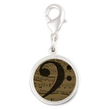 Musical Bass Clef sheet music Charms