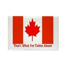Cute Canadian humor Rectangle Magnet