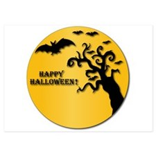 Happy Halloween! 5x7 Flat Cards Invitations