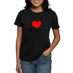 I Love Chaucer Women's Pastel T-Shirt