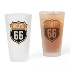 Route 66 -1214 Drinking Glass