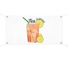 Tea Is Served Banner