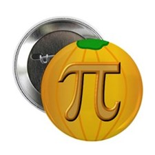 "Pumpkin Pi 2.25"" Button (10 pack)"
