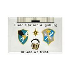 Unique Army security agency Rectangle Magnet