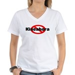 No Kineahoras Women's V-Neck T-Shirt