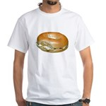 Bagel White T-Shirt