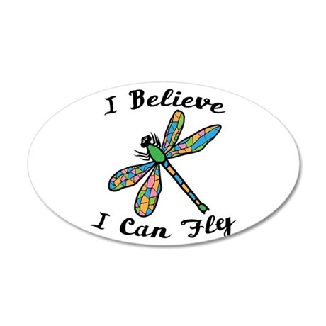 I Believe I Can Fly Wall Decal