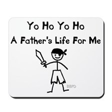 A Father's Life For Me Mousepad