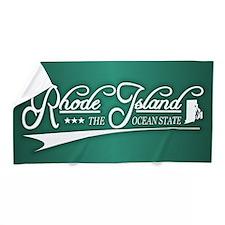 Rhode Island State of Mine Beach Towel