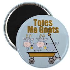 Totes Ma Goats Magnet