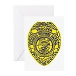 Kansas Highway Patrol Greeting Cards (Pk of 10