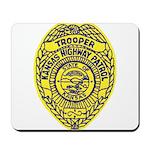Kansas Highway Patrol Mousepad