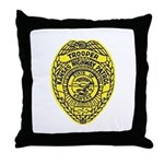 Kansas Highway Patrol Throw Pillow
