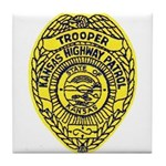 Kansas Highway Patrol Tile Coaster