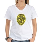 Kansas Highway Patrol Women's V-Neck T-Shirt