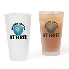 World's Hottest Aubrie Drinking Glass
