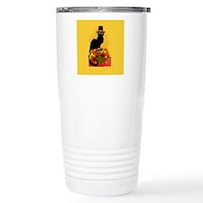 Thanksgiving Le Chat No Travel Mug