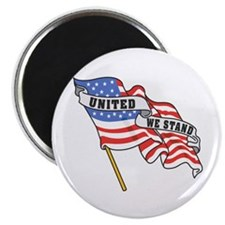 United We Stand Patriotic Magnet