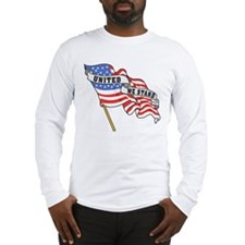 United We Stand Patriotic Long Sleeve T-Shirt