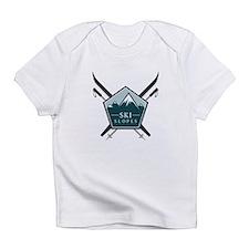 Ski Slopes Infant T-Shirt