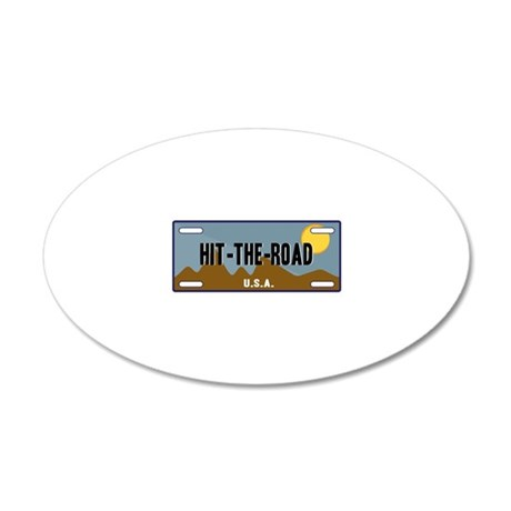 Hit The Road Wall Decal