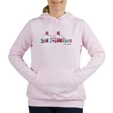 Unique Cable cars Women's Hooded Sweatshirt