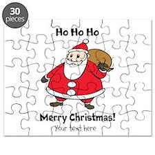 Merry Christmas Santa Claus Puzzle