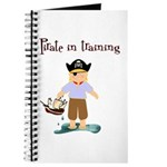 Pirate boy Journal