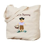 Pirate boy Tote Bag