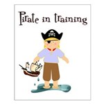 Pirate boy Small Poster