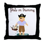 Pirate boy Throw Pillow