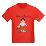 Pirate boy Kids Dark T-Shirt