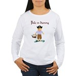 Pirate boy Women's Long Sleeve T-Shirt